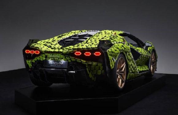 В Lego собрали Lamborghini Sian